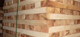 Rubber sawn timber
