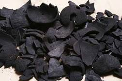 New uses for coconut shell charcoal